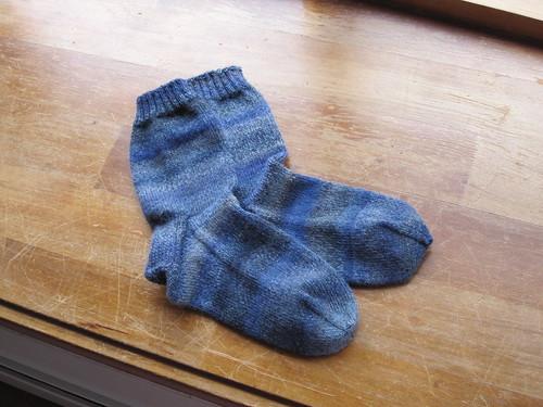 Steve's socks