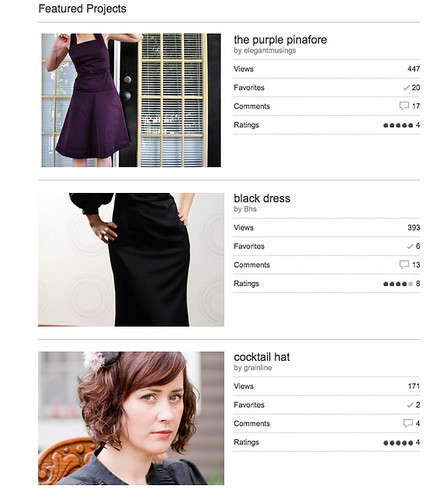 burdastyle featured projects