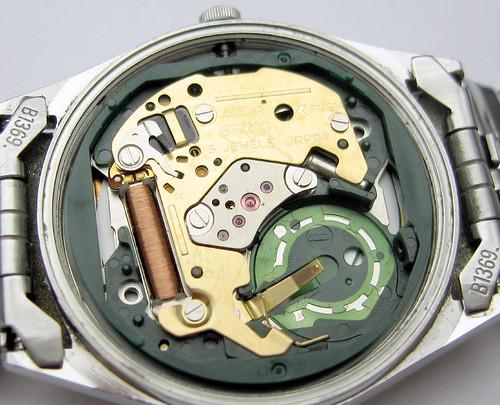 Seiko 5 Quartz Watch, 8123 Movement