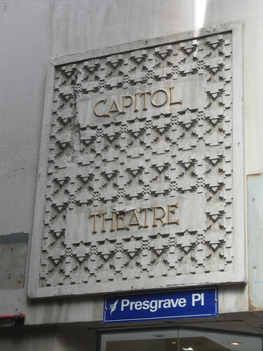 Capitol Theatre Sign, Melbourne