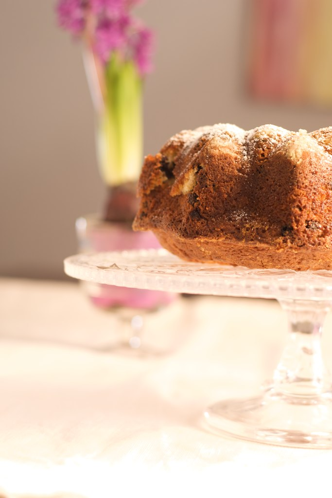 coca arandanos - cake blueberries