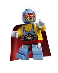 8683 Minifigures Wrestler