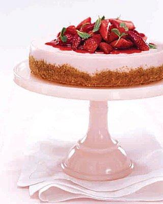 no-bake-strawberry-cheesecake