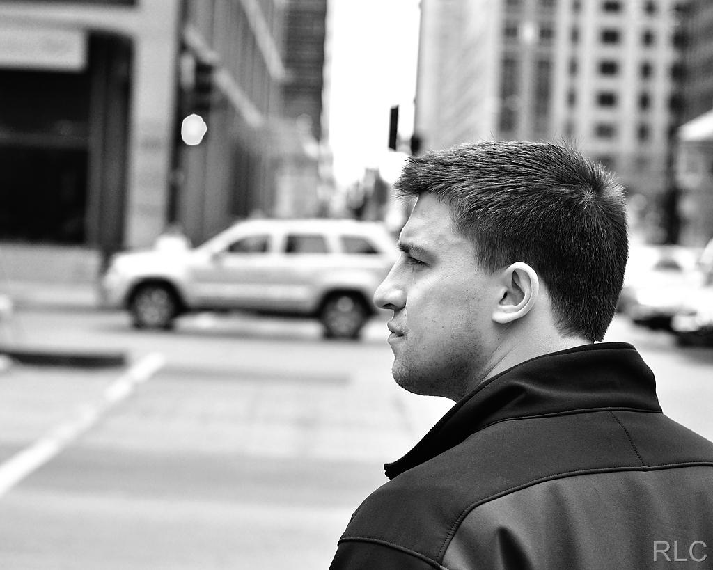 Profile on the corner