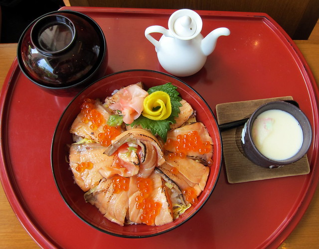 Salmon Donburi Set