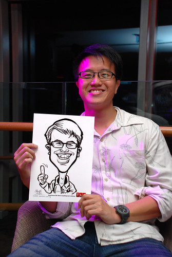 Caricature live sketching for TLC - 36