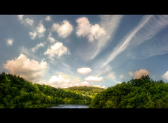 Eifel Landscape Explore May 15, 2011 (Sam ) Tags: sea sky panorama sun weather clouds forest canon germany landscape deutschland see yahoo europa europe flickr sam may himmel wolken eifel explore mai landschaft wald hdr hamm wetter bitburg rheinlandpfalz sonnenschein stausee nims rhinelandpalatinate biersdorf trolledproud natureskingdom