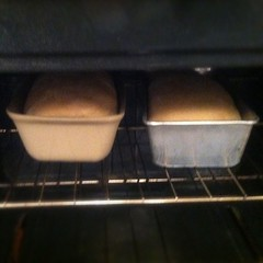 Baking homemade bread so my sick one can have toast when she's ready to eat.