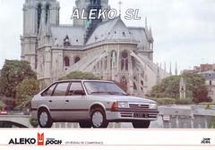 Aleko 1500 SL 1991 brochure (France) (harry_nl) Tags: france sl 1991 brochure 1500 aleko moskvitch azlk 2141