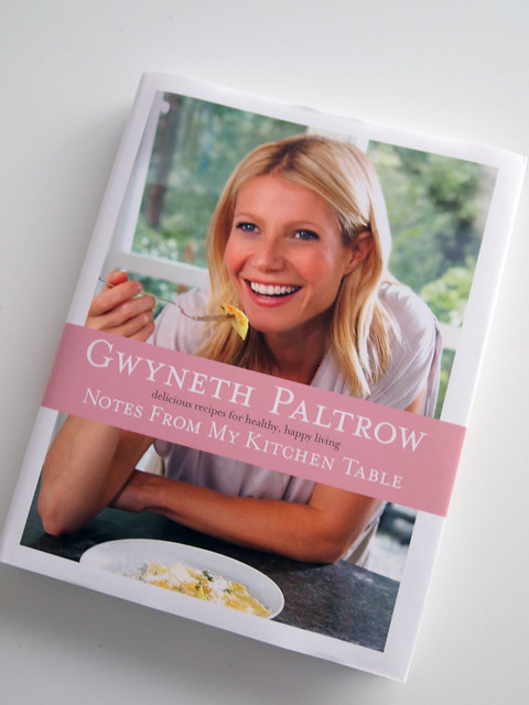 Gwyneth Paltrow Notes from... Cover