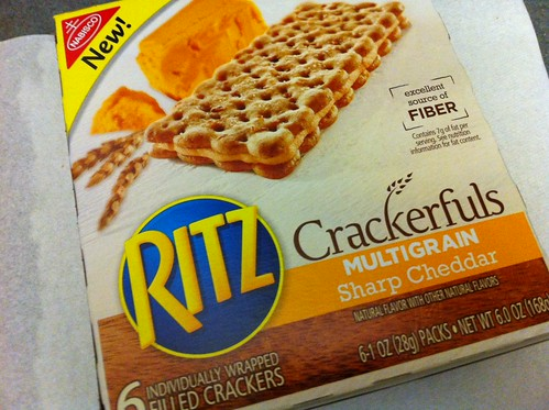 Ritz Crackerfuls Multigrain Sharp Cheddar