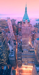 the Daring Angle (Tony Shi.) Tags: city nyc ny tower skyline skyscraper downtown angle manhattan district bank lower trump financial banking daring fidi