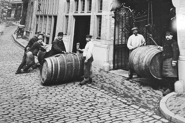 In De Wildeman Whiskey Distillery in Amsterdam
