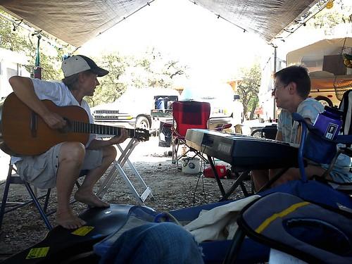 Me & Liz at Kerrville - 2011