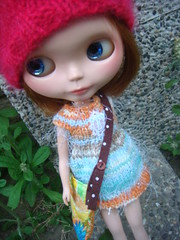 Blythe knitting dress spring collection