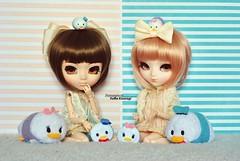 Donald & Daisy Fever (·Yuffie Kisaragi·) Tags: doll dolls pullip pullips souseiseki iona alicedujardin alice du jardin bubbles obitsu obitsus rewigged rechipped