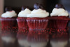 Tasty Reflection (cmd112) Tags: cupcake romance red redvelvetcupcake redvelvet valentines valentinesday surprise gift dessert homemade macro foodphotography chocolate dovechocolate darkchocolate sweets reflections food baker baking baked goods love hearts