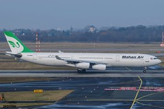 Mahan Air / EP-MMA / Airbus A340-300 / EDDL-DUS / © (RVA Aviation Photography (Robin Van Acker)) Tags: planes trafic airlines avgeek airliner outdoor airplane aircraft vehicle jetliner jet jumbo air photography aviation aviationphotography düddeldorf airport
