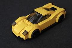 Ferrari 458 Italia (// PROTOTYP) Tags: lego cityscale speedchampions moc ferrari 458 sixwide racer car vehicle