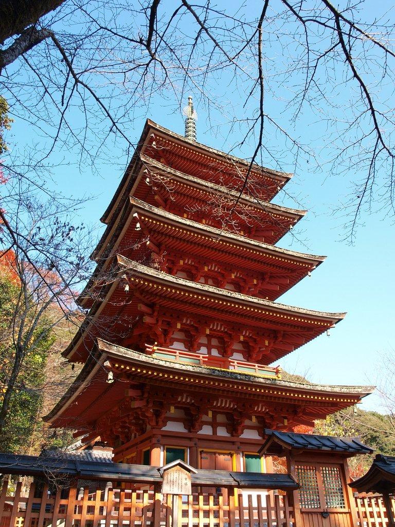 奈良 長谷寺  五重塔