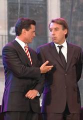 la barbie televisiva Peña Nieto y Marcelo Comp...