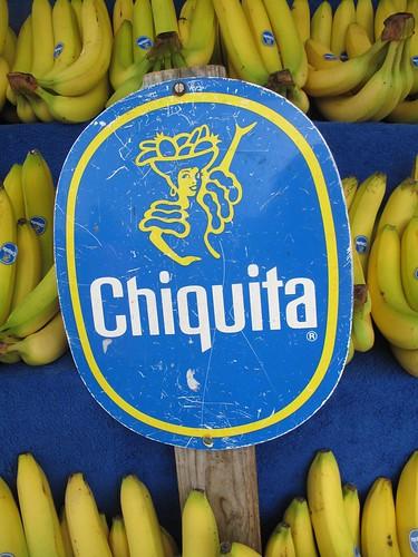 Chiquita Banana sign