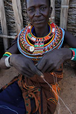 Dtipayon, a resident of Umoja Uaso