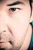 How Ahmed Sees Me ... (Khaled A.K) Tags: portrait eye self studio lights portraiture half khaled kashkari