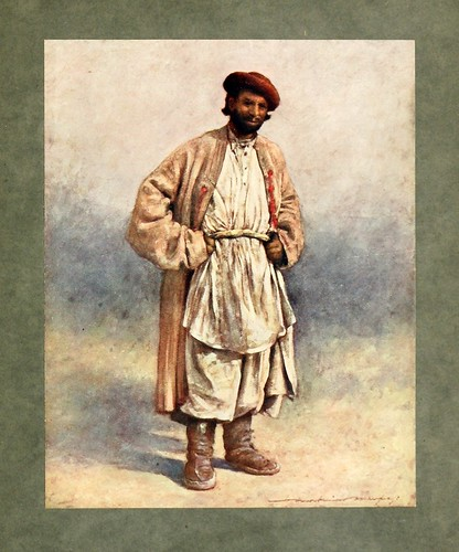 007- Pastor de Cachemira-The people of India 1910