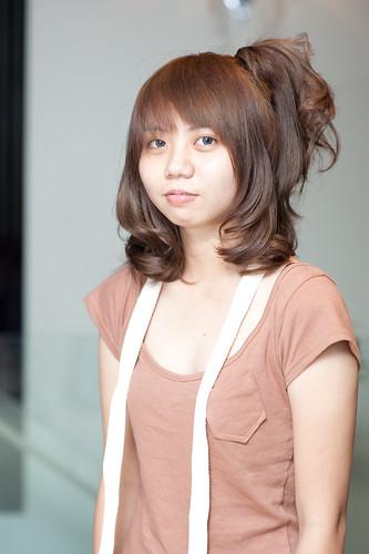 【女生髮型】氣質的可愛綁髮造型