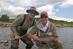 Salmon on the Miramichi 09 (spey2008) Tags: salmon spey miramichi catchandrelease