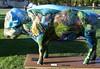 "Part of the ""Where the Painted Buffalo Roam"" exhibit, West Yellowstone, Montana (IMG_1573a) (Alaskan Dude) Tags: travel art buffalo montana wildlife westyellowstone paintedbuffalo wherethepaintedbuffaloroam"