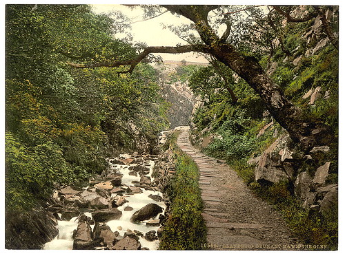 [Cennant Mawr, the Glen, Llanberis, Wales] (LOC)