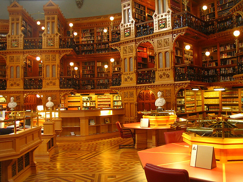 The Library of Parliament, Ottawa, Ontario