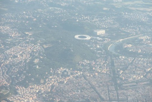 In volo su Roma. by you.