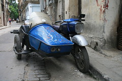 A Typical Havana Motorcycle