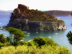 Ischia Castello Aragonese (AntonelloDP) Tags: vacation italy nature italia photos natura musica terre toscana viaggi ritratti tempo paesaggio isola mondo ritrattidalmondo
