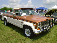 1978 Jeep J20 (splattergraphics) Tags: truck jeep pickup 1978 amc carshow j20 americanmotors hanoverpa chickenshow stdavidslutheranchurch