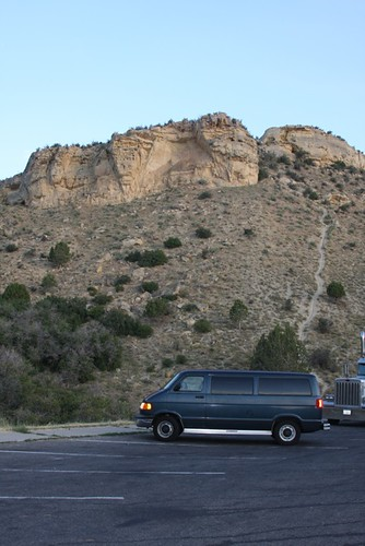 Van in Utah View Area