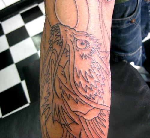 the cat · dragon koy tattoo · tattoo carpas