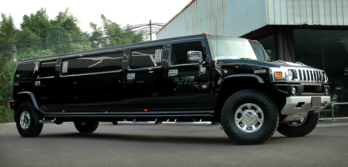 Hummer h2 limusin Luxurious