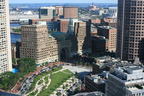 Boston Harbor Hotel, Rose Kennedy Greenway