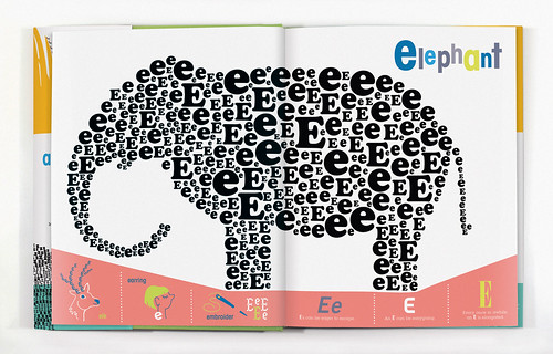 E is for Elephant by wernerdesignwerks.