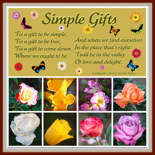 Simple Gifts (by martian cat)