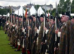 Atholl Highlanders at The Gathering 2009