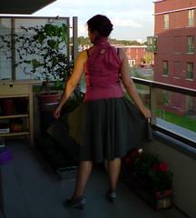 FO top & circle skirt