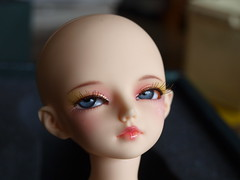 thanks mom (spikelover trying to make the best of it) Tags: pink 14 line bjd resin fairyland cutey active msd leggs auriana minifee woosoo