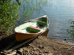 Small boat ready to use (PhotoNinja.Chunin) Tags: easternfinland itsuomi ahvioisland ahvionsaari saimaafinland