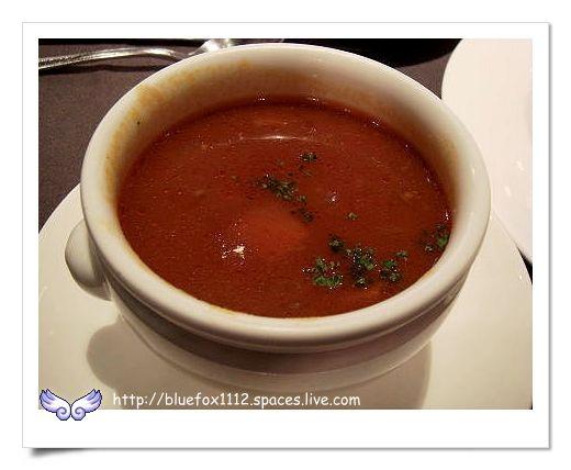 090824法樂琪復興店08_精緻沙拉吧-番茄牛肉蔬菜湯
