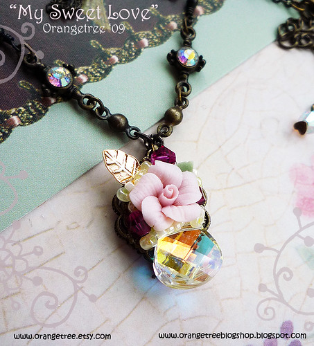 My sweet love necklace